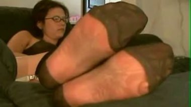 foot fetish,stockings